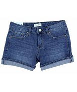 Jessica Simpson Womens Rolled Cuff Denim Shorts (6) - $27.71