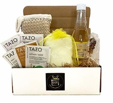 Golden Gift Box- 9 Pieces Luxury Spa Gift Baskets for Women -Vanilla, Lavender o