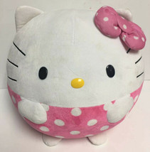 Ty Beanie Ballz Hello Kitty Large Size 12 inch Stuffed Plush Ball HTF Wh... - $27.00