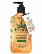 Hempz Limited Edition Pineapple & Honey Melon Moisturizer,  17oz