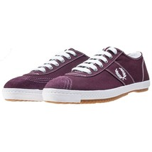 Fred Perry Table Tennis Canvas Plimsolls Trainers Pumps Casual Shoes B63... - $64.79