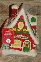 Hallmark 2012 Santa's Workshop 1st In The North Pole Village Collector S... - $39.99
