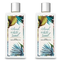 Bath & And Body Works Island White Sand Body Cream Lotion Tahitian Monoi Oil Set - $24.75