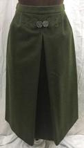 Vintage ChristaModen Salzburg Austria Lined Skirt Womens Green PureWool ... - $79.19