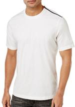 NC International Concepts Men's Zip-Shoulder T-Shirt, White Pure, Size S... - $21.77