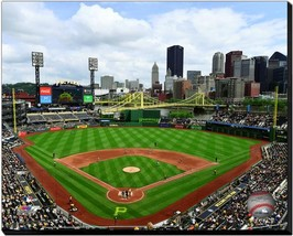 PNC Park 2018 Home of the Pittsburgh Pirates -16x20 Photo on Stretched C... - $94.95