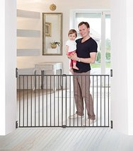Dreambaby Broadway Xtra-Wide Gro-Gate, Charcoal