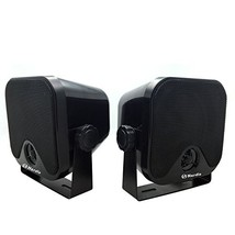 "4"" Heavy Duty Waterproof Boat Marine Box Outdoor Speakers Surface Mounte... - $897,76 MXN"