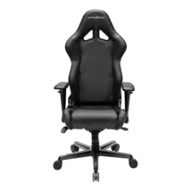 DXRacer OH/RV001/N High-Back Racing Style Office Chair Vinyl+PU(Black) - $359.00