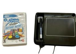 U Draw Studio Tablet Nintendo Wii Video Game Bundle Artist Kids Drawing Art - $19.79