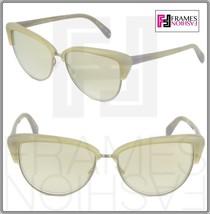 OLIVER PEOPLES ALISHA OV5244S White Pearl Flash Mirrored Sunglasses 5244 Women image 1