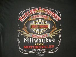 Vintage HARLEY DAVIDSON MOTORCYCLE 1987 3D Emblem Biker MC  Paper Thin T... - $173.29