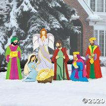Deluxe Nativity Scene Yard Stakes - $181.73