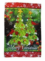 ALBATROS 12 inch x 18 inch Merry Christmas Tree Holidays Vertical Sleeve... - $40.19