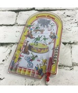 Schylling Toys Curious George Monkey Handheld Pinball Game Toy Retro Circus - $14.84