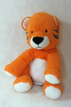 Carters Just One You Orange 8″ Tiger Plush Rattle Baby Stuffed Animal Lovey - $22.64