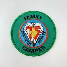 Vtg BSA Boy Scout Patch Mid America Council Diamond Jubilee 1985 Family Camper - $19.00