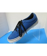 Vans Off The Wall Boys Youth Blue Sneakers Tennis Shoes Youth Size 6 - $20.79