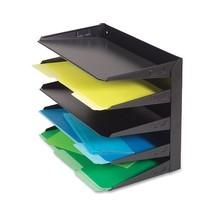STEELMASTER 5-Tier Steel Legal Size Horizontal Organizer, 15.8 x 12.7 x ... - $53.21