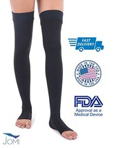 Jomi Compression Thigh High Collection, 20-30mmHg Surgical Weight Open T... - $37.06