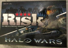 Risk Halo Wars Collector's Edition Board Game 2009 USAopoly 12+ - $34.64