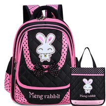 Teens Backpack Set Canvas Girls Kids Book Bag School Backpack with Lunch Bag - $32.99