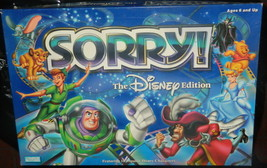 Sorry The Disney Edition Board Game-Complete - $16.00