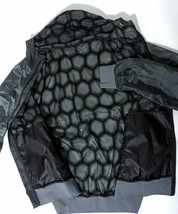 PUMA Mens Full Zip Reversible WINDBREAKER Hooded Black Size 2XX NWT NEW - $42.56