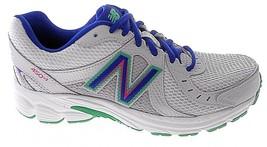New Balance Women's WHITE/BLUE/GREY Running Shoes Sz 5, 5.5 #W450CS3 - $46.99