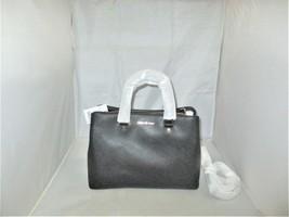 Michael Kors Savannah Large Leather Satchel, Shoulder Bag, Cross-Body, T... - $139.99