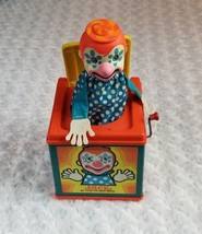 Vintage 1976 Mattel JACK IN THE MUSIC BOX Toy Clown ***Broken*** - $21.25