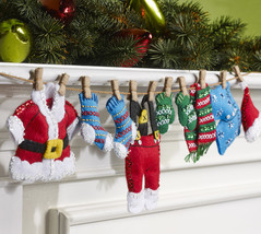 Bucilla 'Santa's Laundry Garland'  Felt Applique Stitchery Kit, 86683 - $25.99