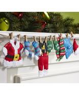 Bucilla 'Santa's Laundry Garland'  Felt Applique Stitchery Kit, 86683 - $25.99