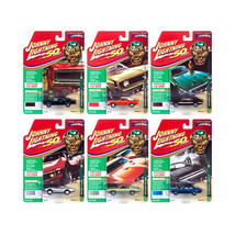 Muscle Cars USA 2019 Release 1, Set B of 6 Cars Class of 1969 1/64 Dieca... - $59.32