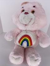 "Vintage Kenner Cheer Care Bear 16"" Plush 1983 Stuffed Animal Toy Rainbow... - $29.65"