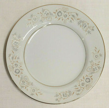 "Diamond China Winchester Pattern 6 1/2"" Bread Plate Floral on White Pattern - $3.95"