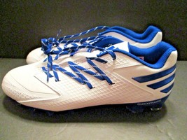 Adidas Freak X Carbon Football Cleats Sneakers Men's White Royal Blue Size 13 - $32.66