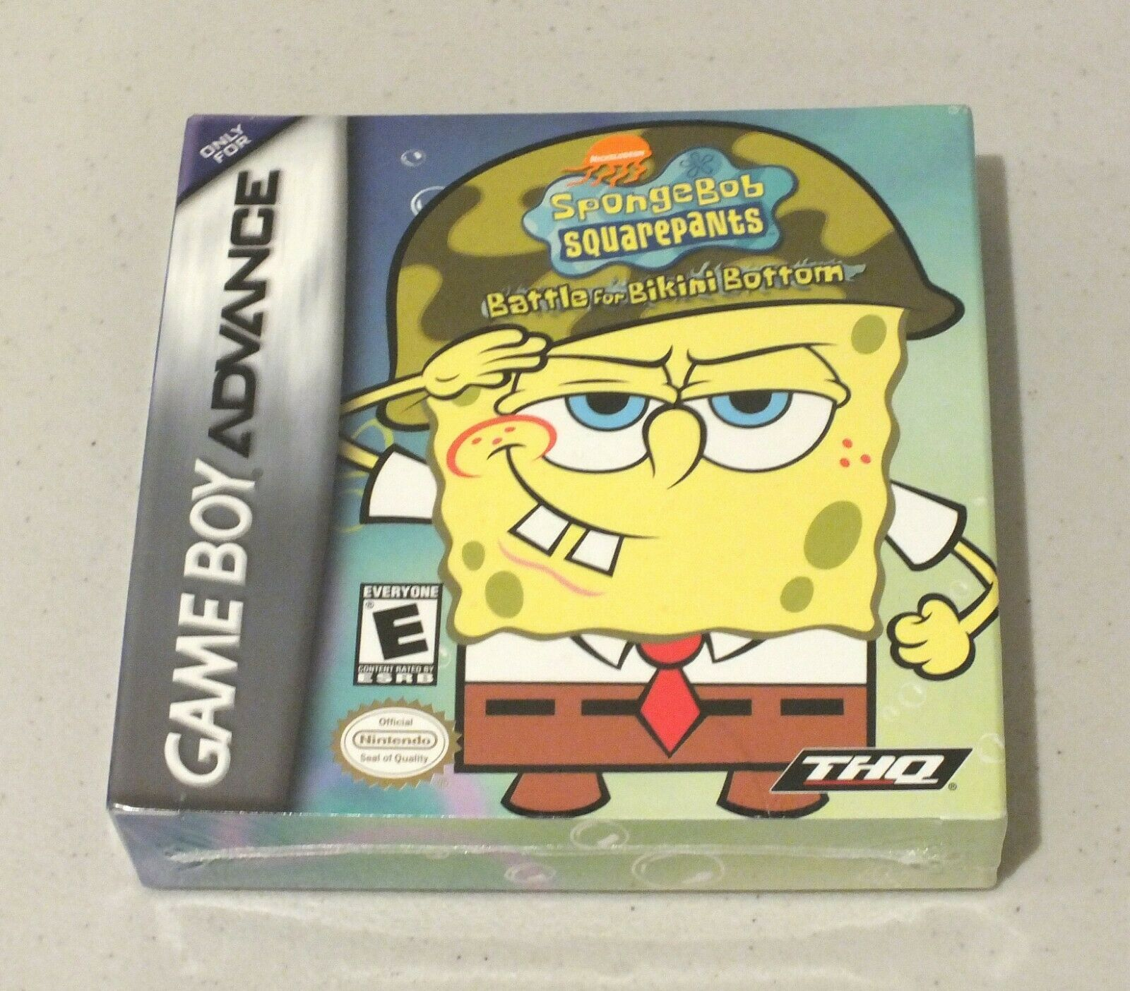 Primary image for SpongeBob SquarePants: (Nintendo Game Boy Advance, 2003-COMPLETE WITH +MANUAL+FR
