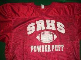 SRHS Powder Puff Football Smith Jersey L/XL - $9.99