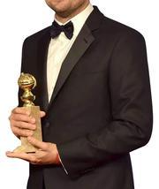 Oscar 2016 Leonardo Dicaprio Tuxedo Slimfit Black Suit image 3