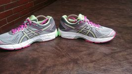 Womens Asics GT 1000 4 Running Shoes SZ 8 39.5 Used t5a7n Sneakers Trainers image 4