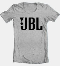 JBL T-shirt Free Shipping cotton blend grey tee car stereo speaker sound system image 2