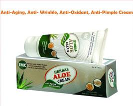 IMC Herbal ALOE Cream For Anti-ageing, Anti-wrinkle, Anti Oxidant - 60 g... - $21.77