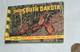 597ms scene south dakota sd 10 plastichrome views reproduction travel pack - $9.18
