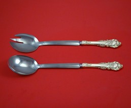 Sir Christopher by Wallace Sterling Silver Salad Serving Set Modern Custom Made - $149.00