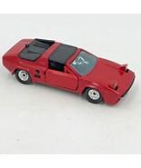 Vintage Mini Tech Korea Diecast Toy Car Red Lamborghini Silhouette 1/43 SM - $16.95