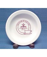 1990s Homer Laughlin China Logo Souvenir Plate w/ Cup Saucer Advertising... - $9.95