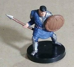 Dungeons & Dragons Miniatures Caravan Guard #1 D&D Mini Collectible Wizards! - $7.99