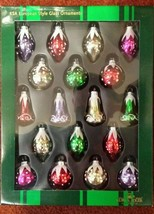 KURT ADLER KSA EUROPEAN STYLE MINATURE CHRISTMAS ORNAMENTS NEW ITEM - $34.64