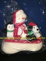 Hallmark 2007 Snow What Fun Sledders Snowman Plush New In Bag - $59.99